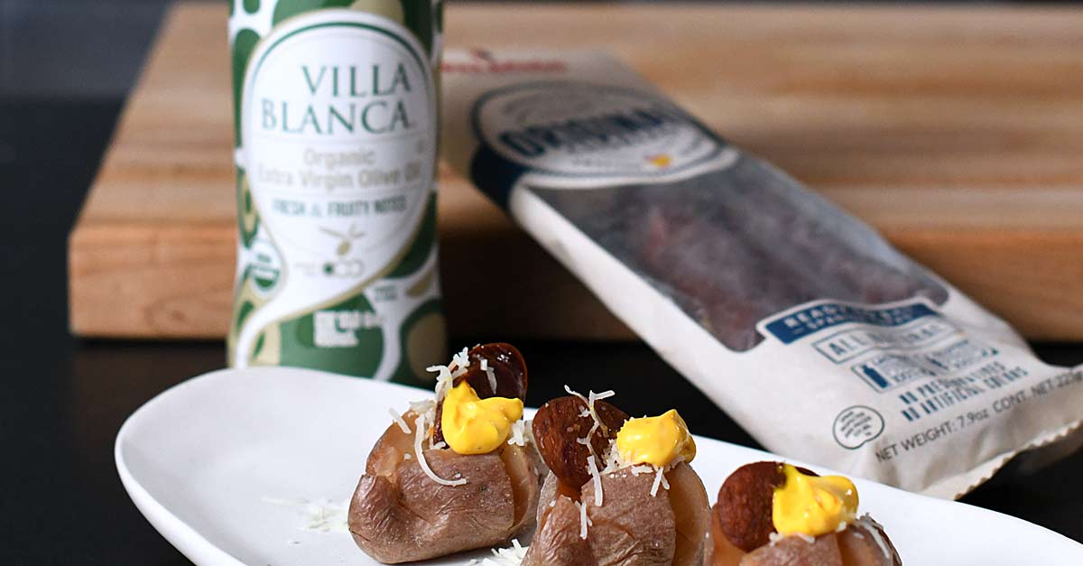 villablanca oil recipe chorizo potatao
